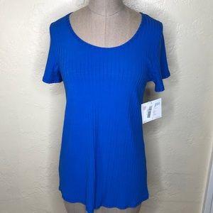 LuLaRoe blue Classic T